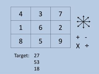 Target: 27 53 18