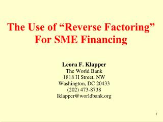 How can a firm convert its (illiquid) Accounts Receivable into  Short-Term Financing?