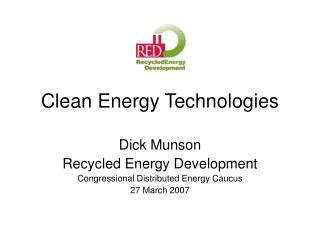 Clean Energy Technologies