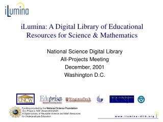 iLumina: A Digital Library of Educational Resources for Science & Mathematics
