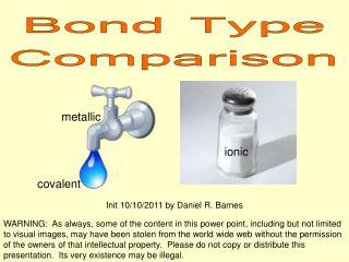 Bond Type Comparison