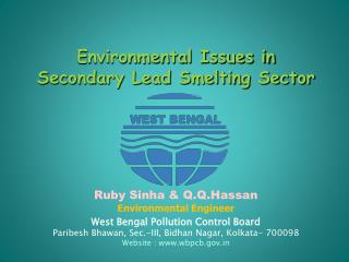 Environmental Issues in  Secondary Lead Smelting Sector