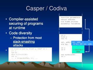 Casper / Codiva