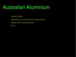 Australian Aluminium