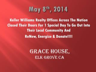 May 8 th , 2014