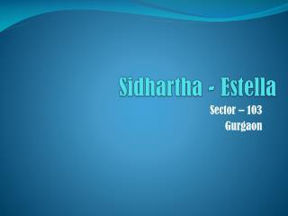 Sidhartha - Estella