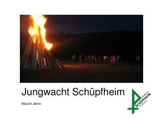 Jungwacht  Schüpfheim Maurin Jenni
