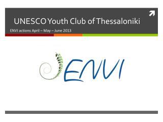 UNESCO Youth Club of Thessaloniki