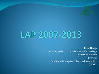 LAP 2007-2013