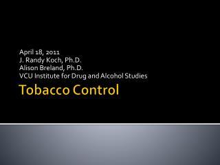 Tobacco Control