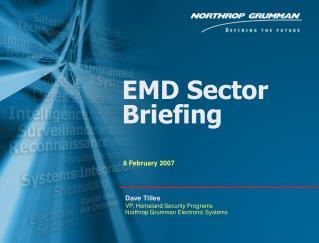 EMD Sector Briefing