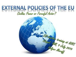 External policies of the EU