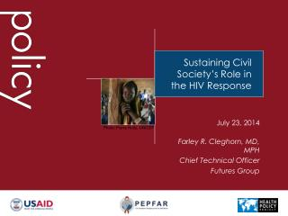 Sustaining Civil Society's Role in the HIV Response