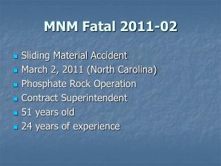 MNM Fatal 2011-02