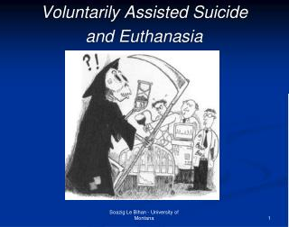 Voluntarily Assisted Suicide  and Euthanasia