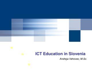 ICT Education in Slovenia