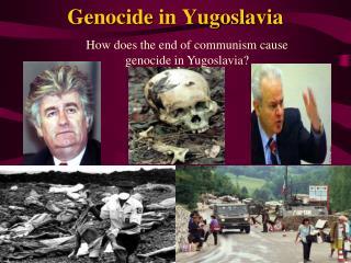 Genocide in Yugoslavia