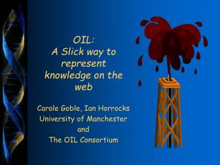 OIL:  A Slick way to represent knowledge on the web