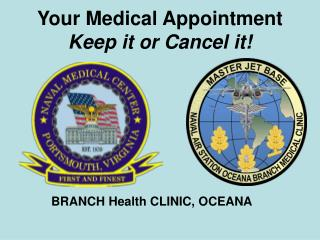 Your Medical Appointment Keep it or Cancel it!