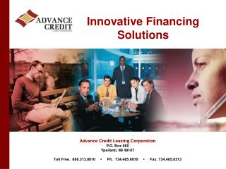 Innovative Financing Solutions