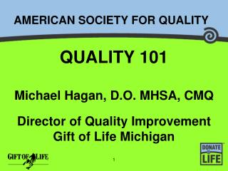 AMERICAN SOCIETY FOR QUALITY