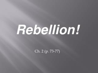 Rebellion! Ch. 2 (p. 73-77)