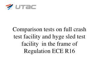 Tests parameters