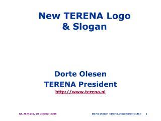 New TERENA Logo & Slogan
