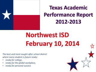 Texas Academic Performance Report 2012-2013