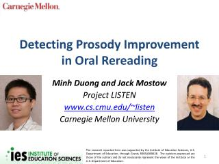 Detecting Prosody Improvement in Oral Rereading