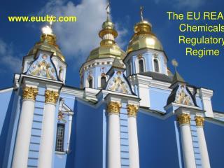 The EU REACH Chemicals Regulatory Regime