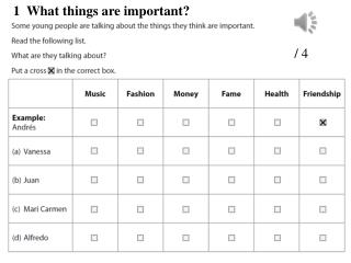 1  What things are important?