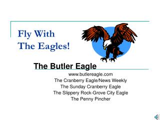 Fly With  The Eagles!