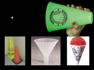 LETS HEAR IT FOR CONES !