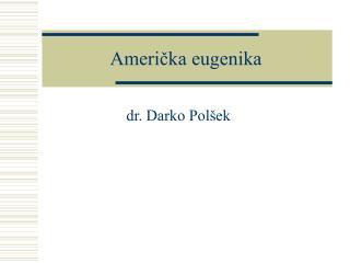 Americka eugenika