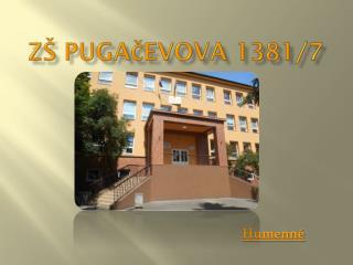 ZŠ Pugačevova 1381/7