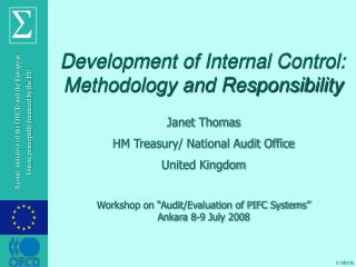 Development of Internal Control: Methodology and Responsibility