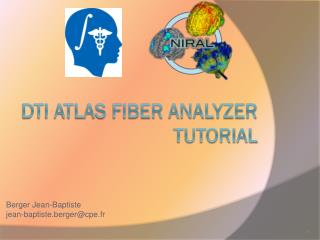 DTI Atlas fiber analyzer Tutorial