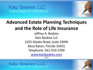 2012 – A Great Year For Estate Planning or the Greatest Year?