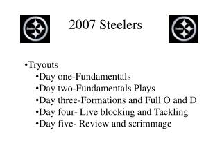 2007 Steelers