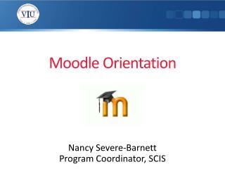 Moodle Orientation