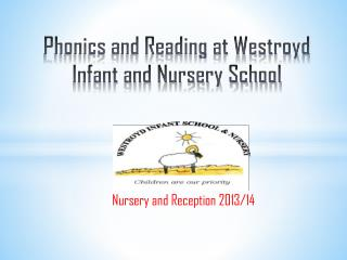 Phonics and Reading at Westroyd Infant and Nursery School