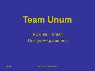 Team Unum