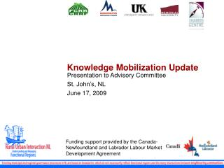 Knowledge Mobilization Update