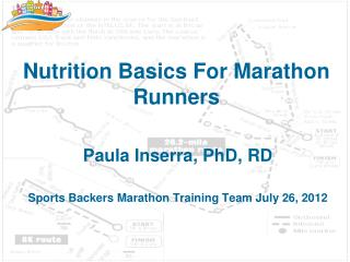 Nutrition Basics For Marathon Runners