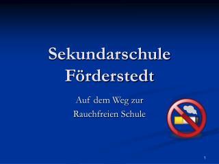Sekundarschule Förderstedt