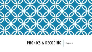 PHONICS & DECODING