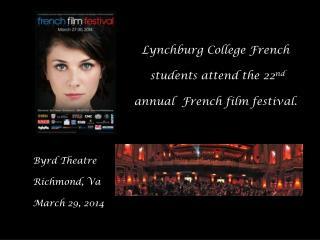 Byrd Theatre Richmond,  Va March 29, 2014