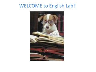 WELCOME to English Lab!!