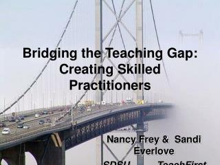 Bridging the Teaching Gap: Creating Skilled Practitioners